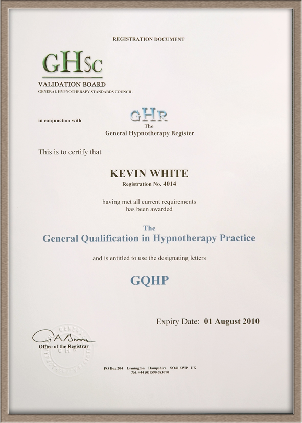 GHSC cert. low re